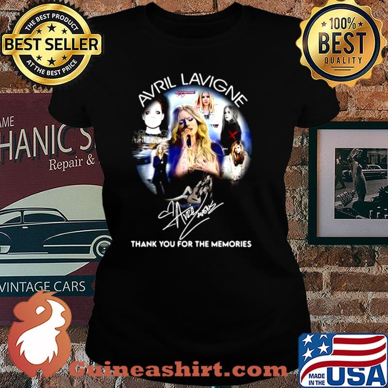 Avrl Lavigne Thank You For The Memories Laides tee