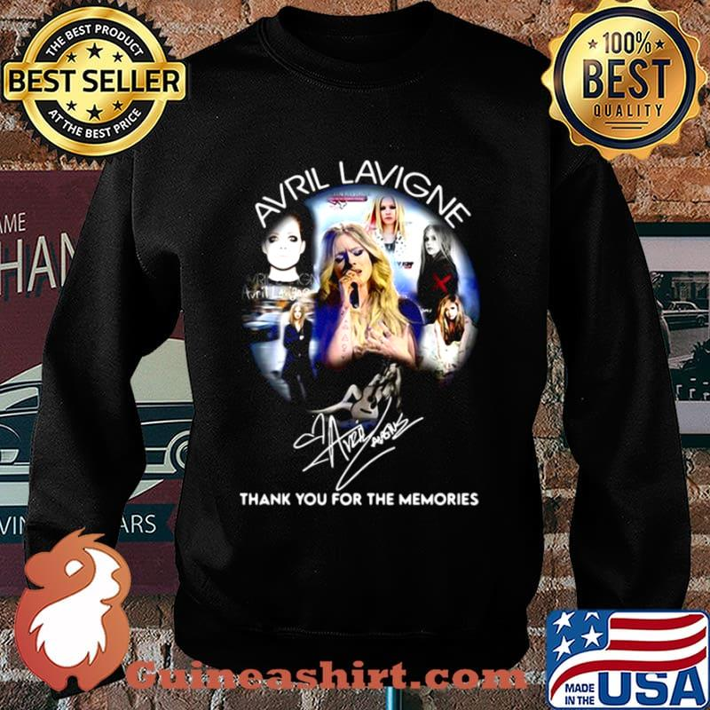 Avrl Lavigne Thank You For The Memories Sweater