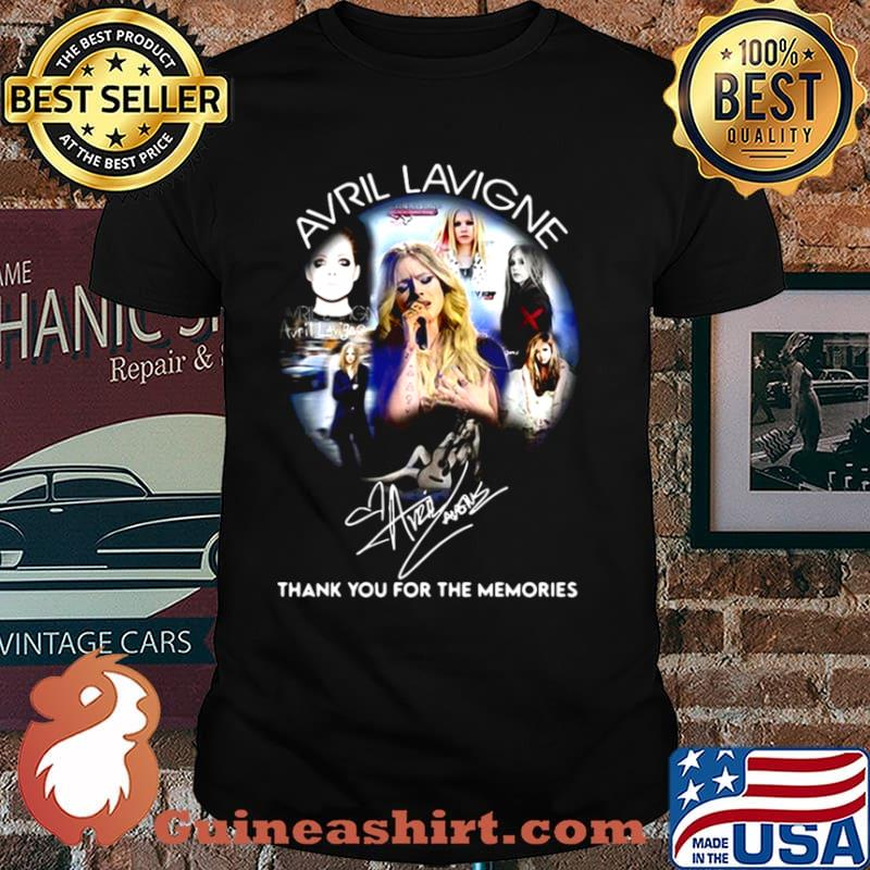 Avrl Lavigne Thank You For The Memories shirt