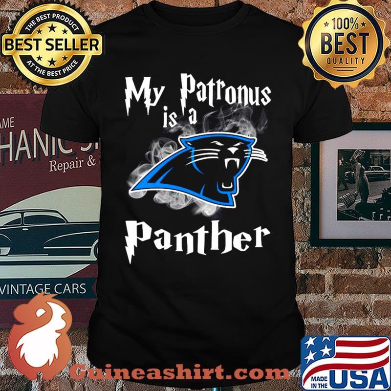 Carolina Panthers My Patronus Is A Panthers shirt