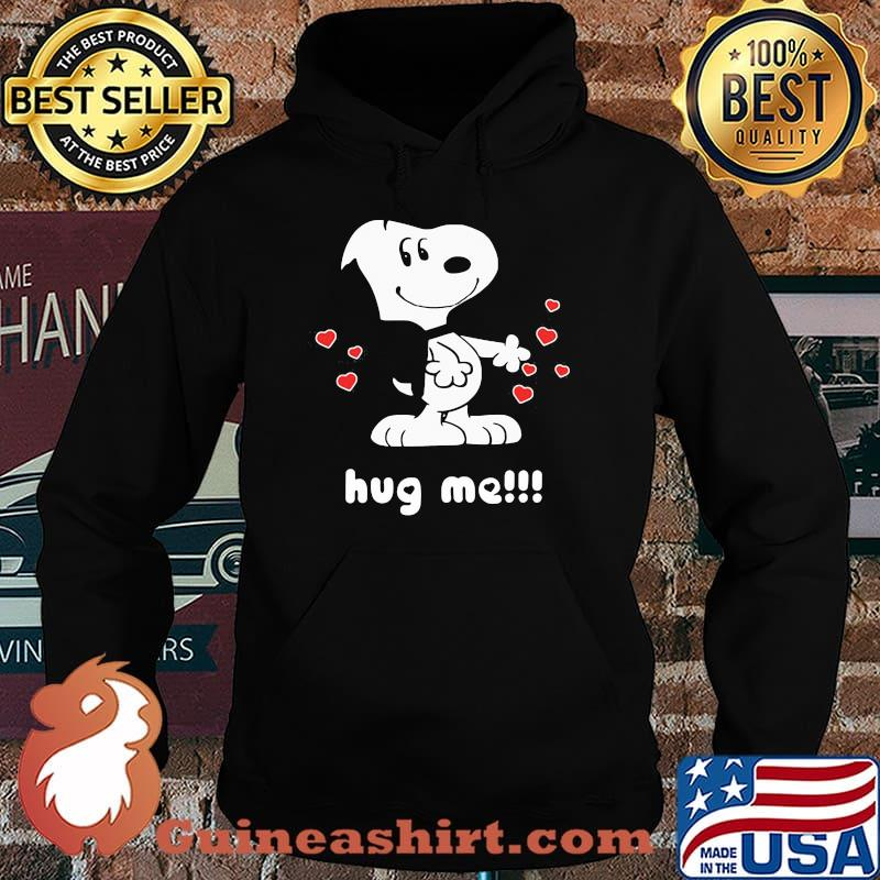 Official Hug Me Snoopy Shirt Hoodie