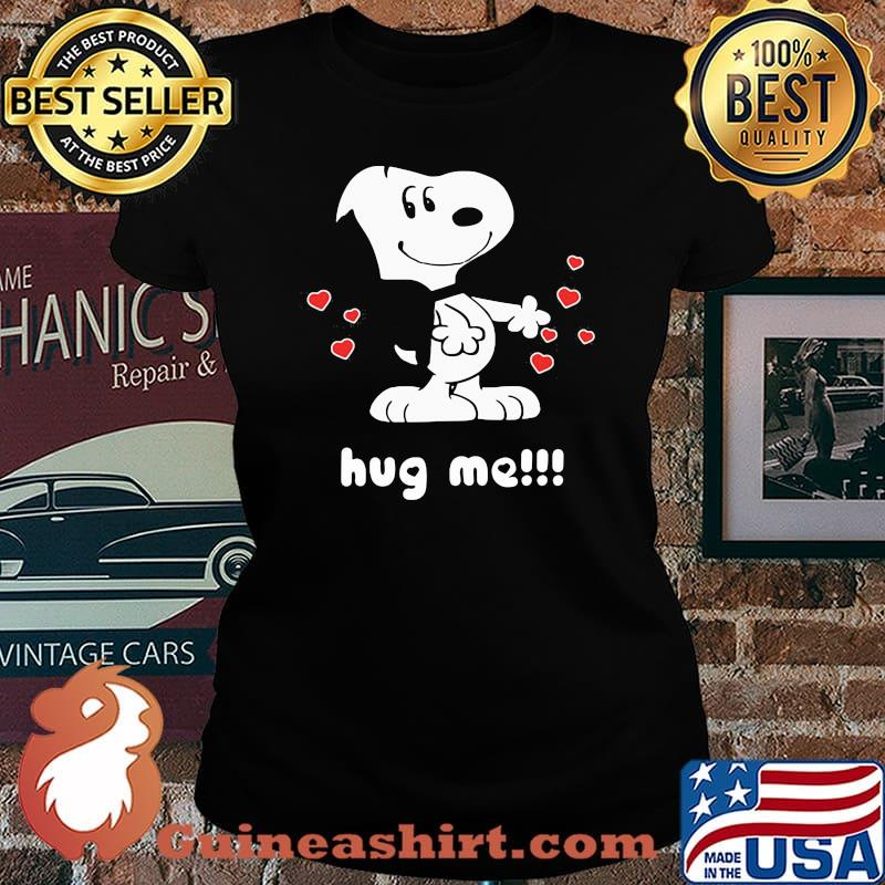 Official Hug Me Snoopy Shirt Laides tee