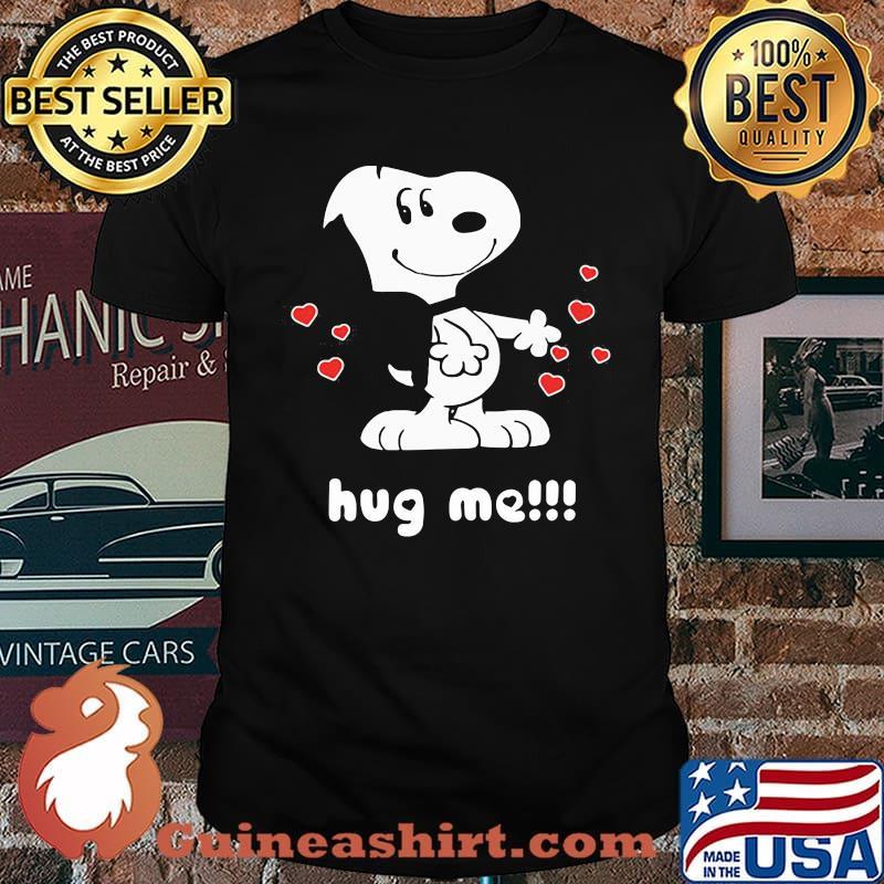 Official Hug Me Snoopy Shirt