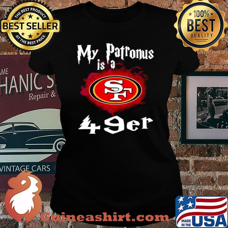 San Francisco 49ers My Patronus Is A 49ers Laides tee