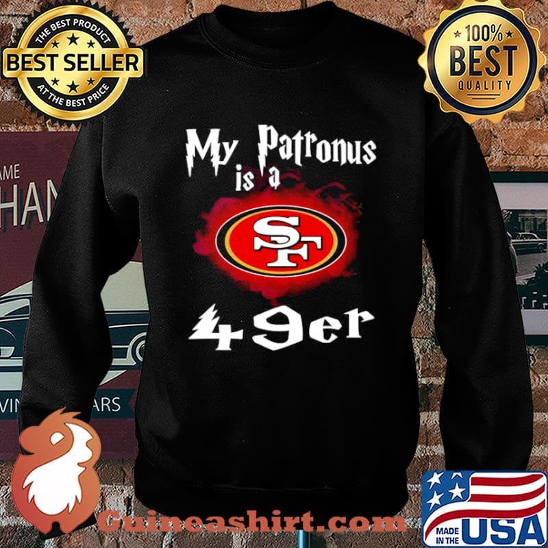 San Francisco 49ers My Patronus Is A 49ers Sweater