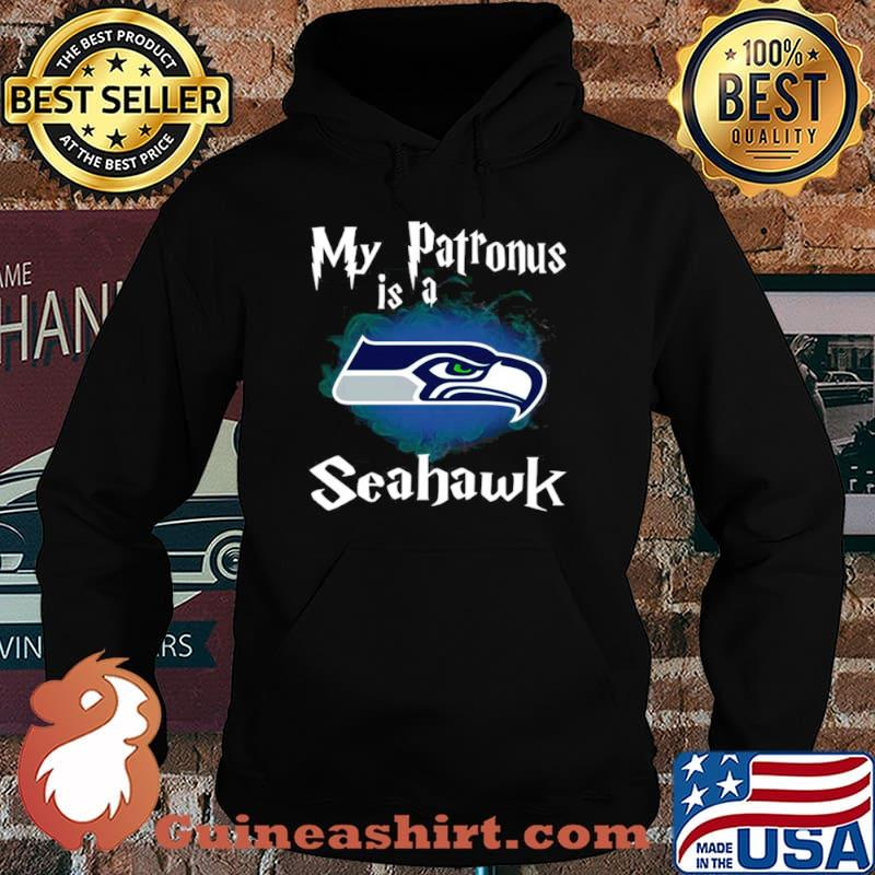 Seattle Seahawks My Patronus Is A Seahawks Hoodie