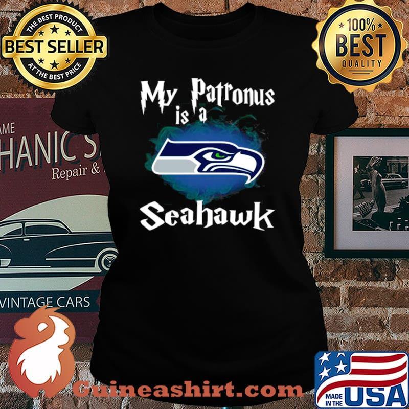 Seattle Seahawks My Patronus Is A Seahawks Laides tee