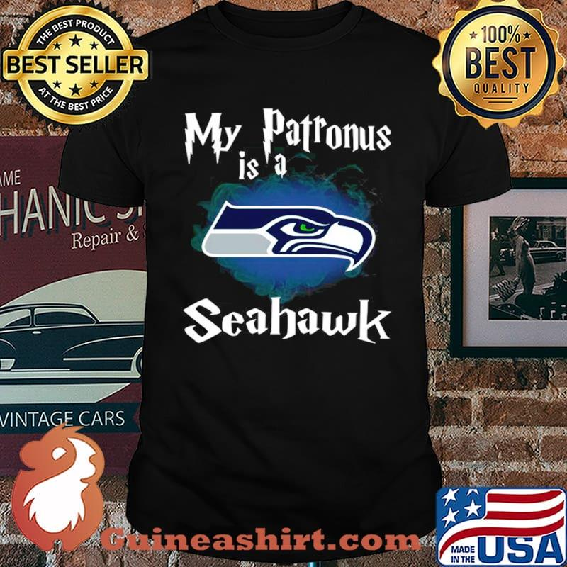 Seattle Seahawks My Patronus Is A Seahawks shirt