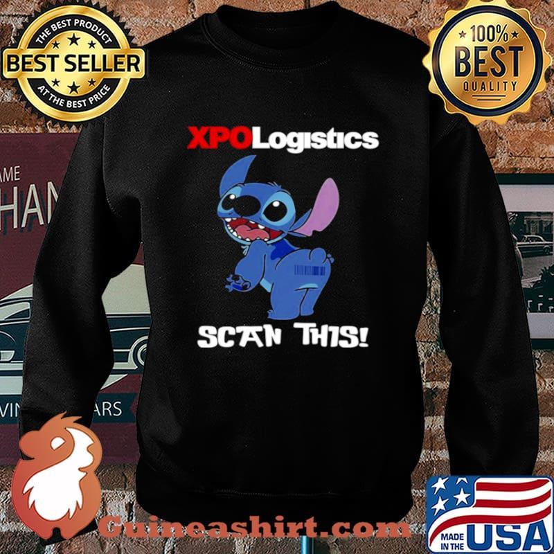 Stitch XPO Logistics Scan This Sweater