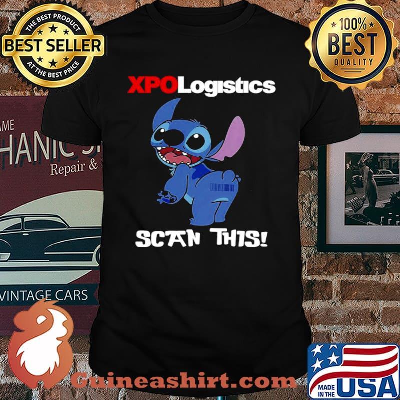 Stitch XPO Logistics Scan This shirt