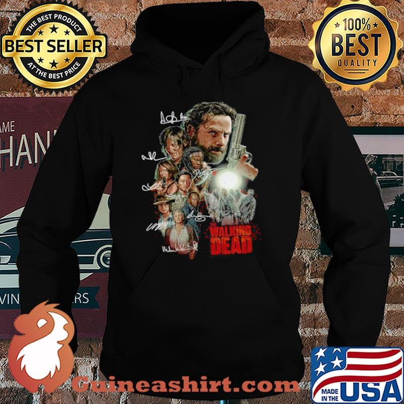 The Walking Dead Characters Signatures Hoodie