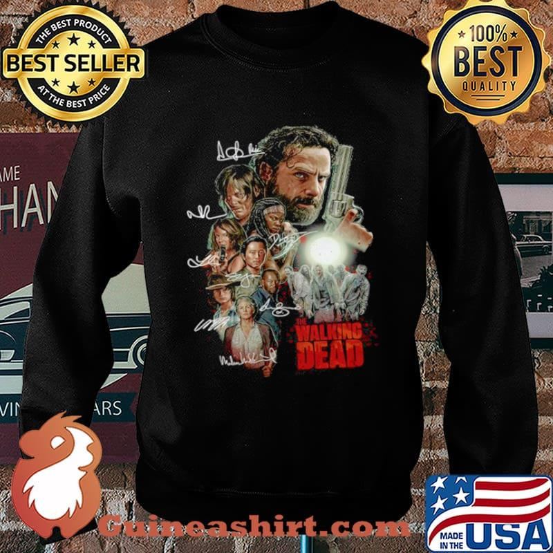 The Walking Dead Characters Signatures Sweater