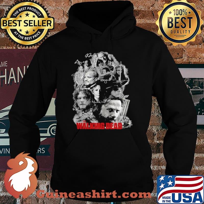 The Walking Dead Full Characters Signatures Hoodie
