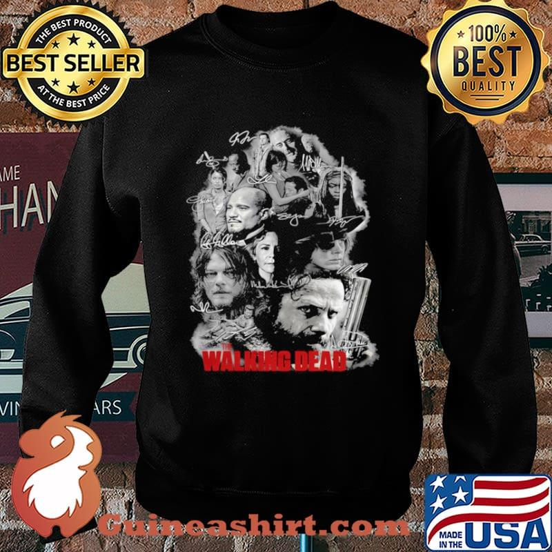 The Walking Dead Full Characters Signatures Sweater