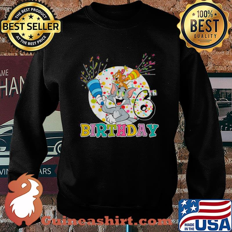 Tom And Jerry 6th Birthday The Cat And Mouse Sweater
