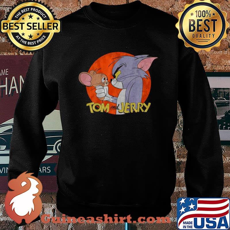 Tom And Jerry Funny Not Friends The Cat And Mouse Sweater
