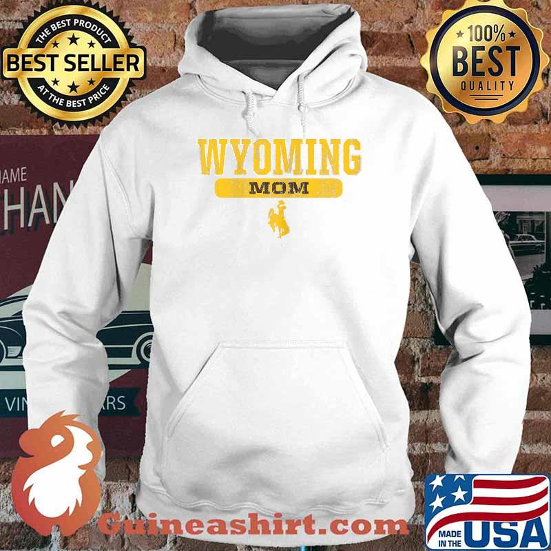Wyoming Cowboys Apparel Mom Block Pill Shirt Hoodie