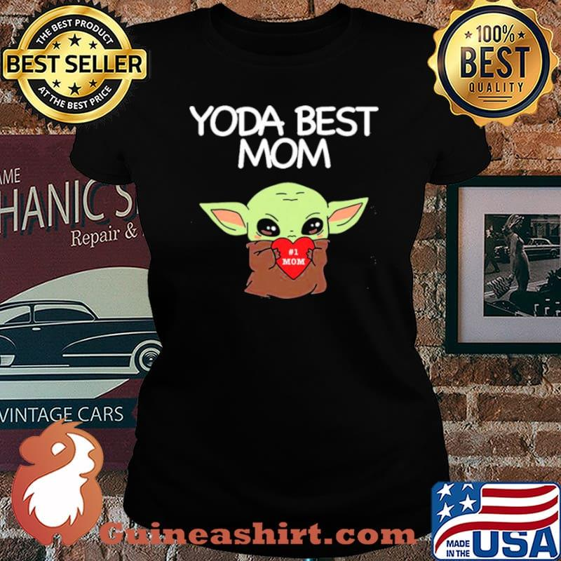 Yoda Best Mom Laides tee