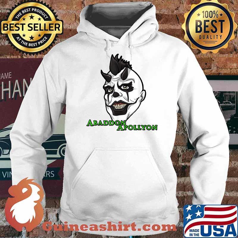 Abaddon Apollyon Face Monster_Abaddon T-Shirt Hoodie