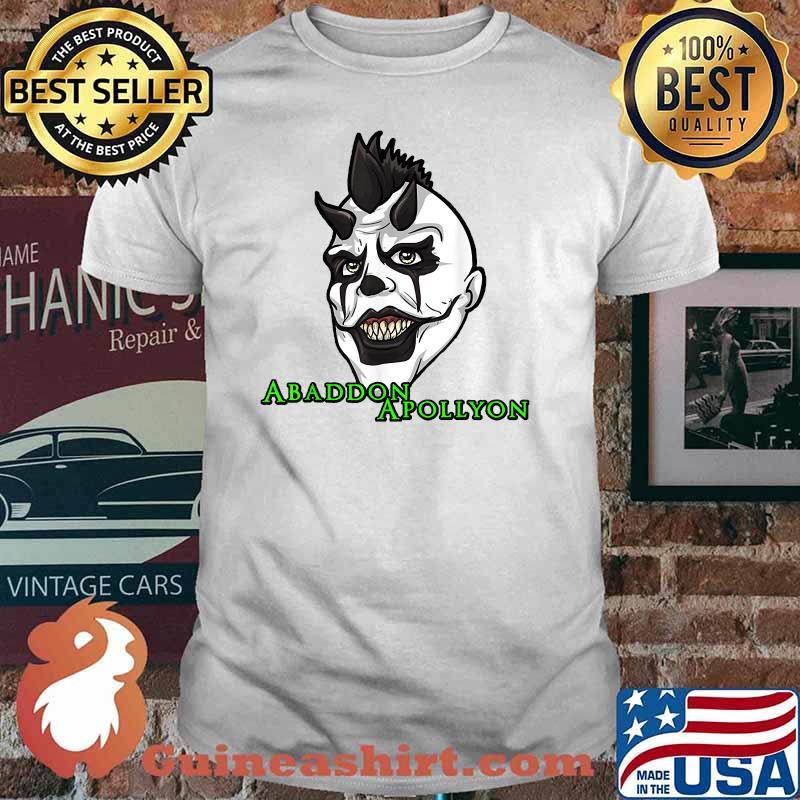 Abaddon Apollyon Face Monster_Abaddon T-Shirt